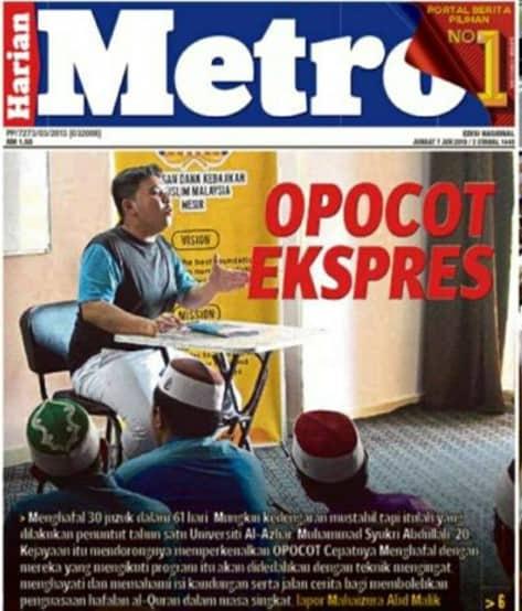 Opocot Express - Metro